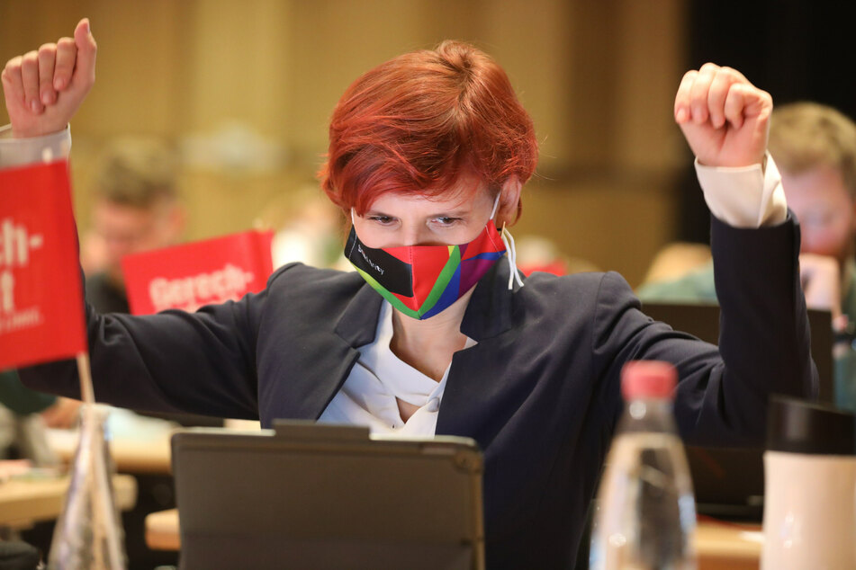Katja Kipping (Die Linke), Bundesvorsitzende der Partei, fordert eine stärkere Beteiligung bei Entscheidungen über Corona-Schutzmaßnahmen.