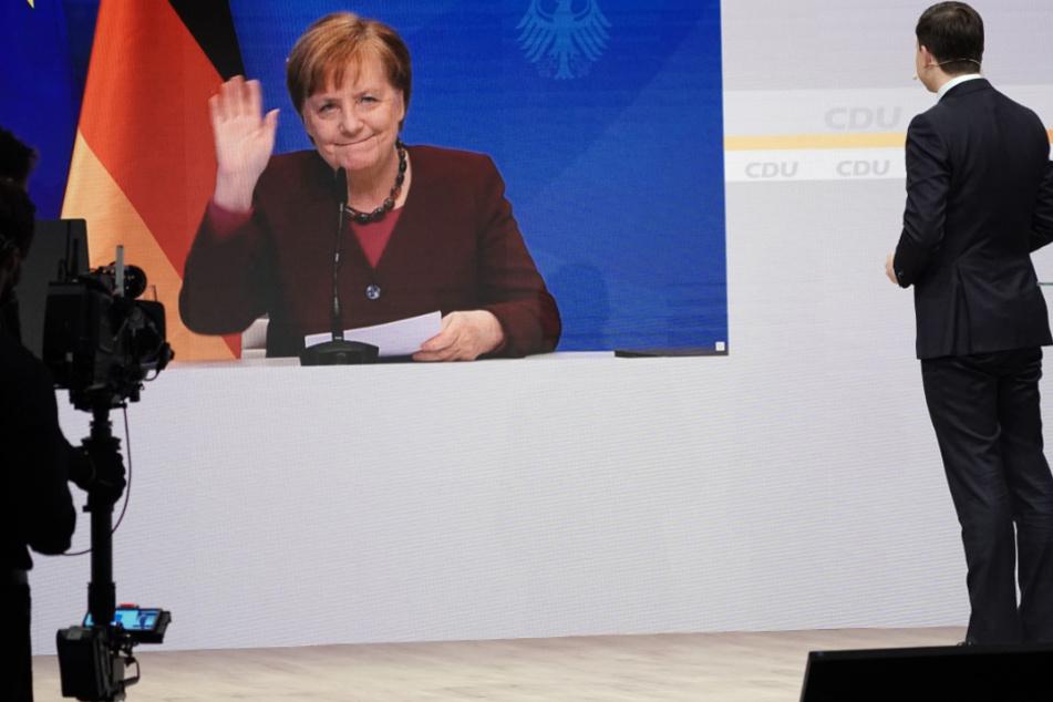 """Kanzlerin Merkel auf CDU-Parteitag: Deutschland wird nach Corona zu """"neuer Stärke finden"""""""