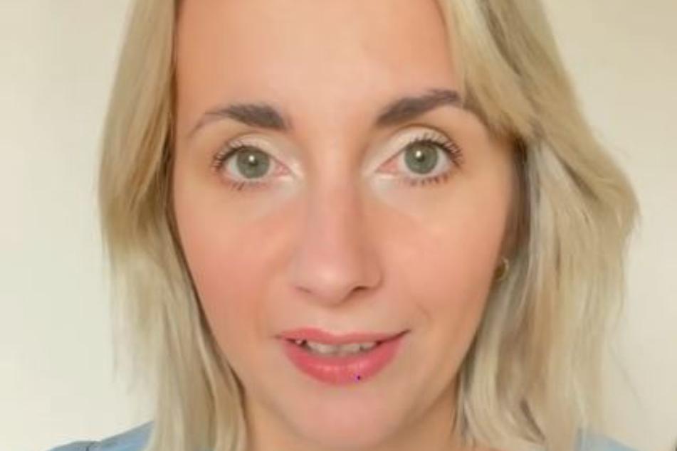 Anna Heiser (31) in einem Instagram-Video.