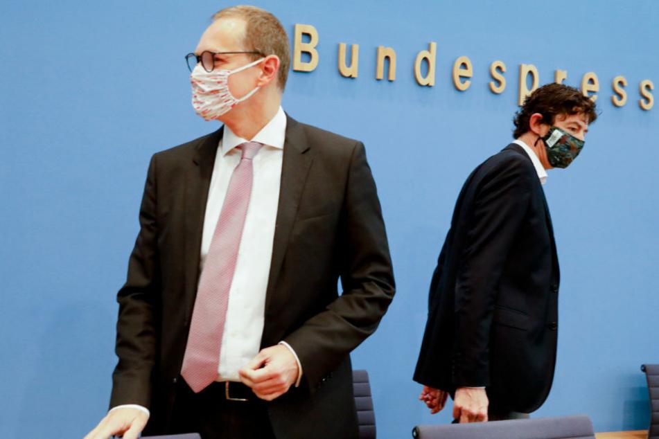 Berlins Bürgermeister Müller mahnt: Gesundheitsämter sind unterbesetzt