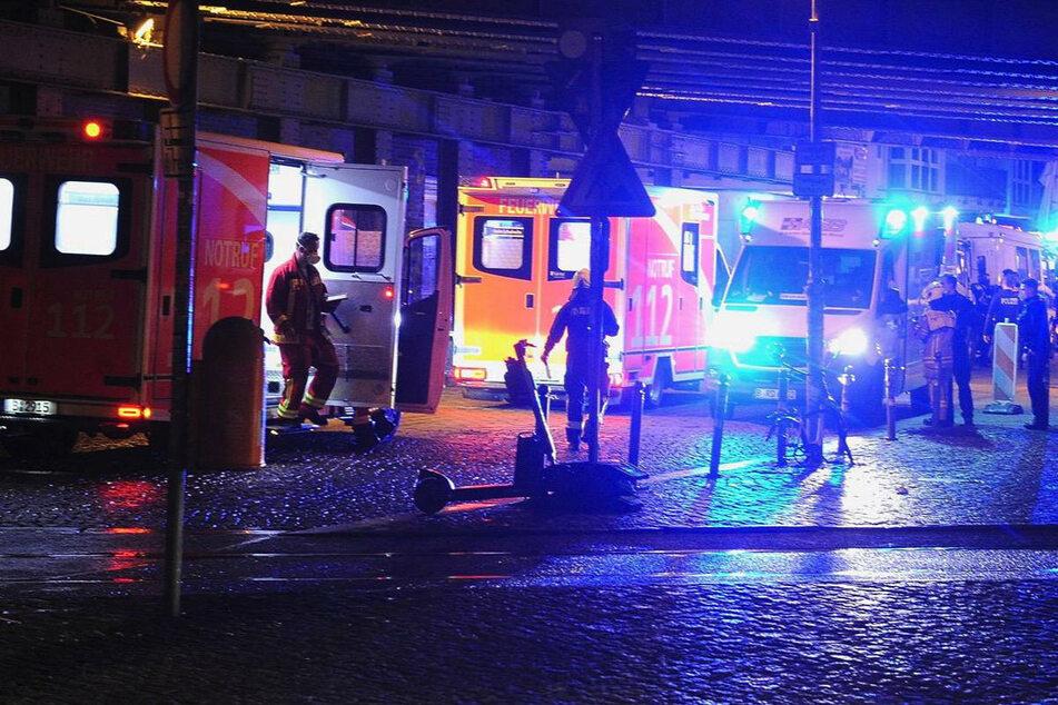 Berlin: Im Drogenrausch: Frau verletzt mehrere Menschen mit abgebrochener Glasflasche