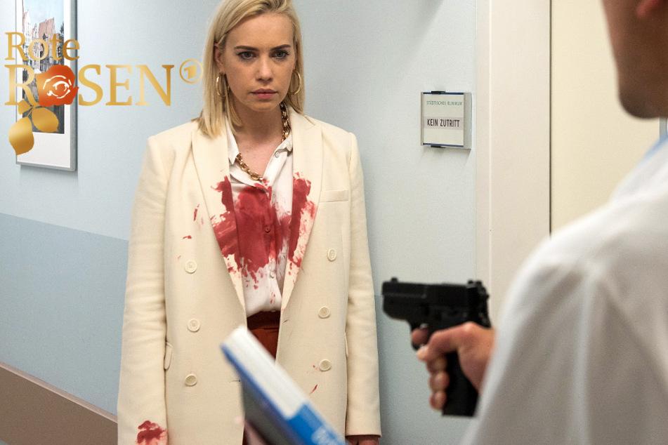 Rote Rosen: Witte lauert Amelie im Krankenhaus auf.