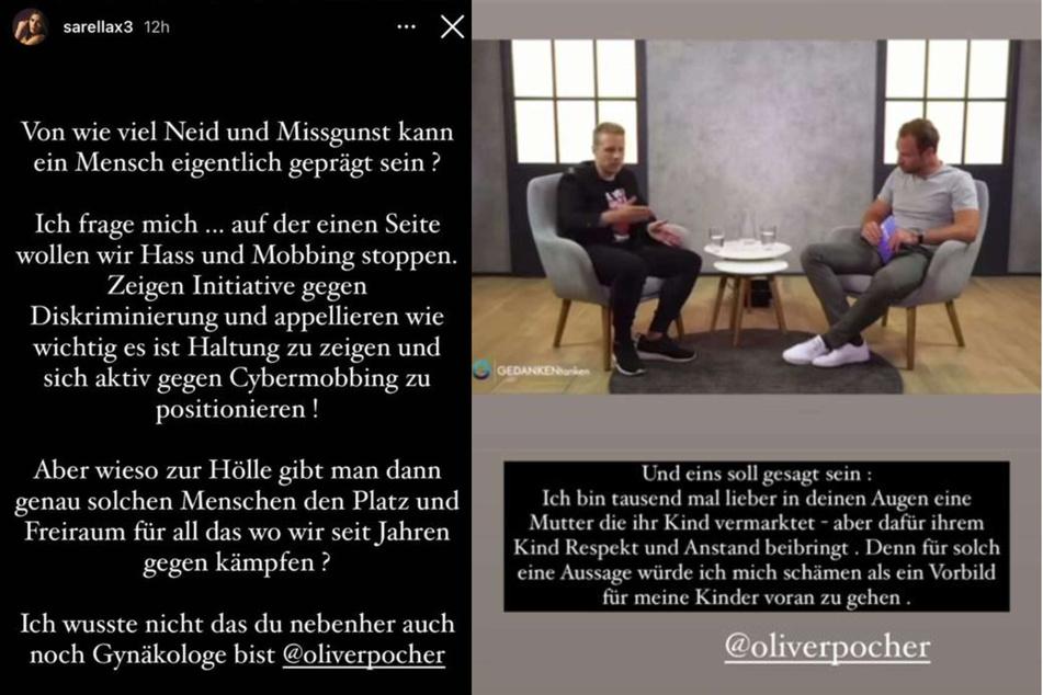 Sarah Engels reagierte in ihrer Instagram-Story auf die Anschuldigungen von Oliver Pocher und veröffentlichte ein gesalzenes Statement.