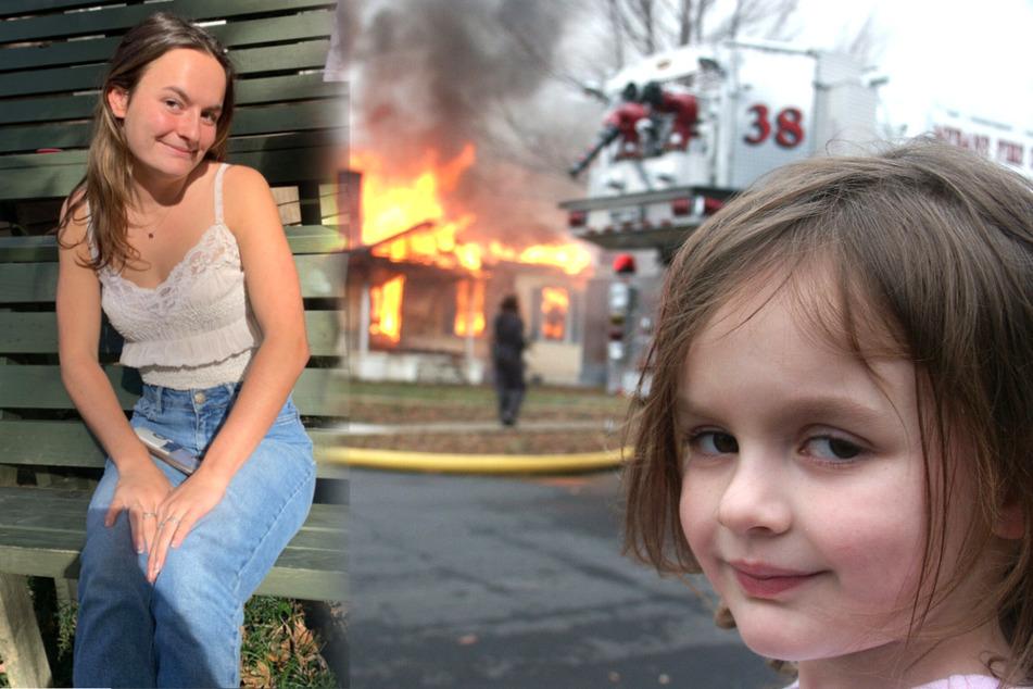 """Vor 16 Jahren wurde sie zum Internet-Meme: """"Disaster Girl"""" verkauft ihr ikonisches Bild und wird reich"""