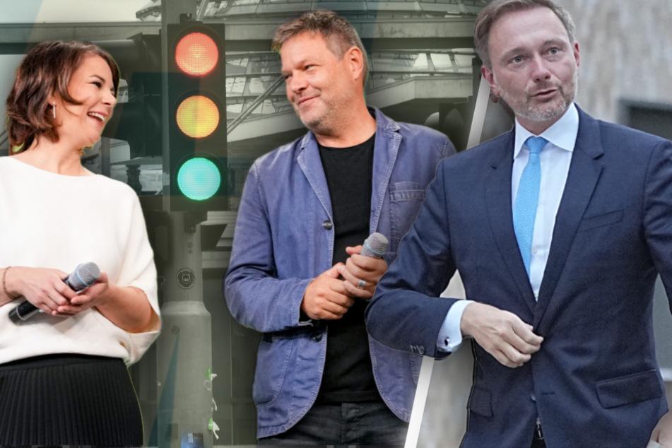 Ampel-Sondierungen: FDP nimmt Grünen-Angebot an, erstes Treffen mit SPD steht!