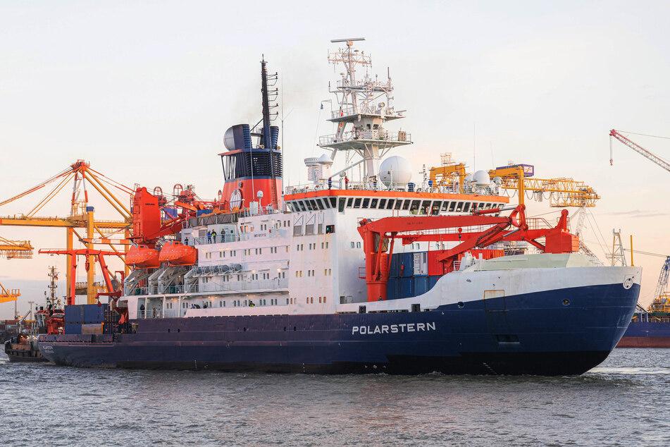 Die Polarstern ist wieder auf dem Weg in die Arktis. (Archivbild)