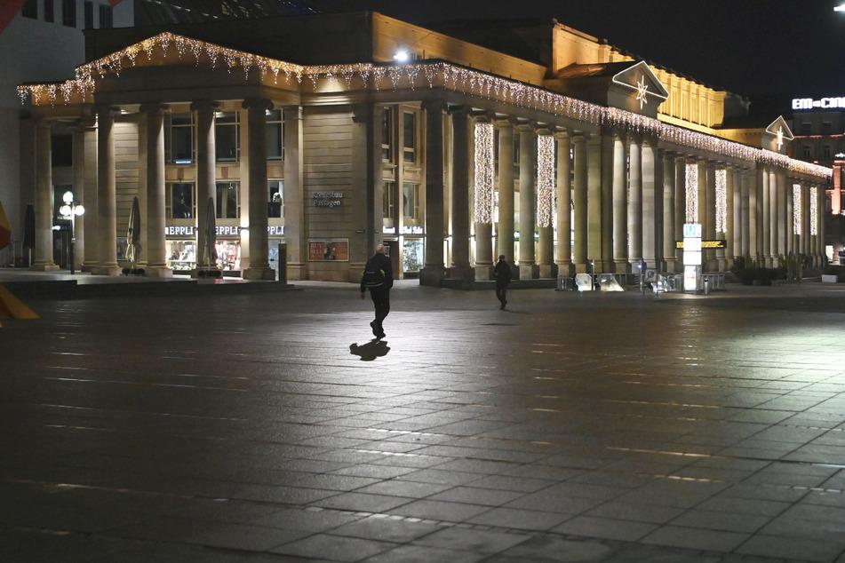 Anfang des Jahres herrschte in Stuttgart eine Ausgangssperre ab 20 Uhr.