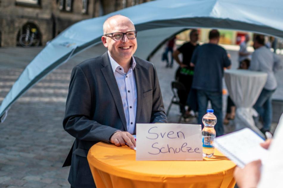 Chemnitzer OB-Kandidaten stellen sich vor: Das wird mein wichtigstes Projekt!