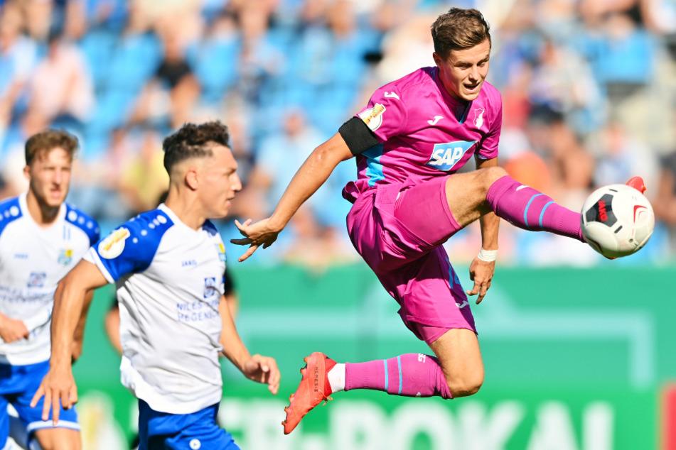 Artistisch! Christoph Baumgartner und die TSG Hoffenheim dürften sich erneut für den europäischen Wettbewerb qualifizieren wollen.