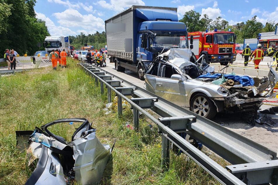 Unfallmeldungen A5
