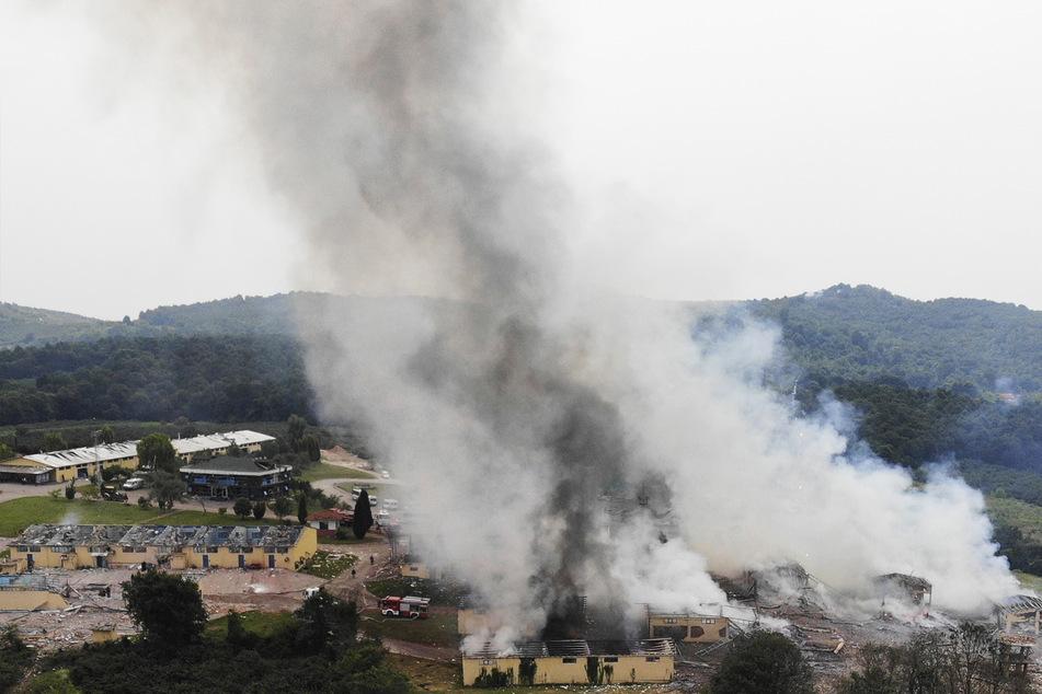 Im westtürkischen Sakarya - Tote und Verletzte bei Explosionen in Feuerwerksfabrik