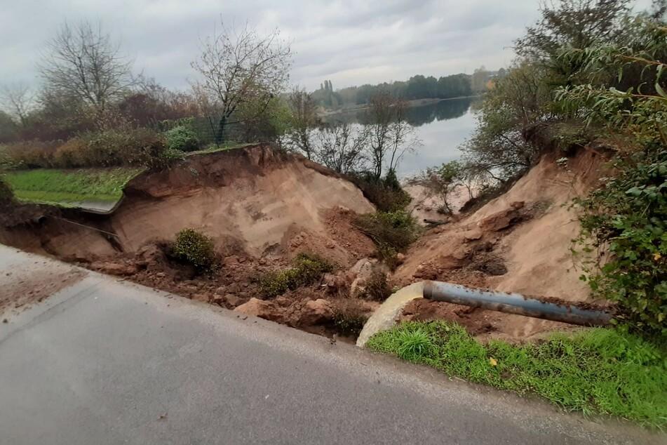 Heftiger Erdrutsch an Kölner See! Das ist die Ursache