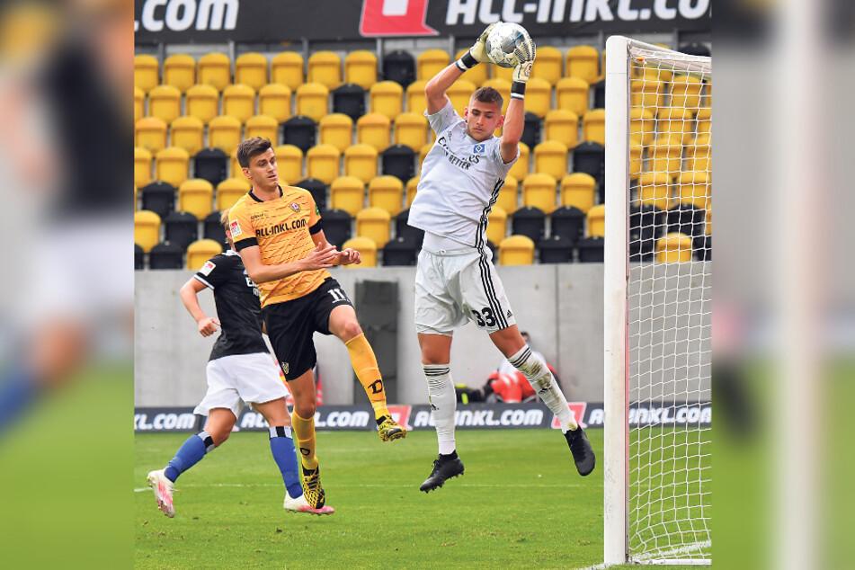 Alexander Jeremejeff (M.) hat einen Vertrag bei Dynamo, aber andere Vereine sollen Interesse an ihm haben.