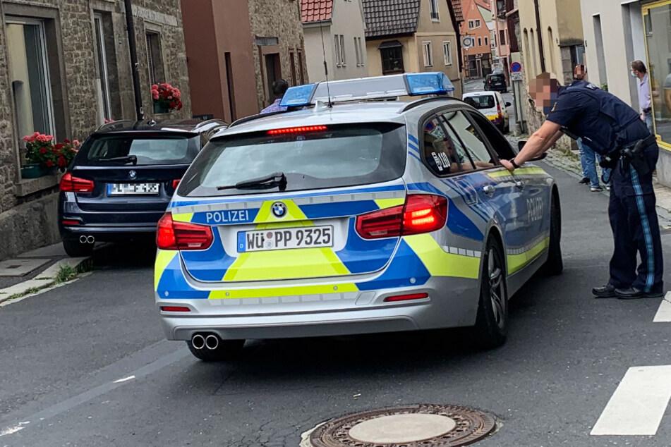 Überfall auf Lottogeschäft in Würzburg: Großaufgebot der Polizei im Einsatz