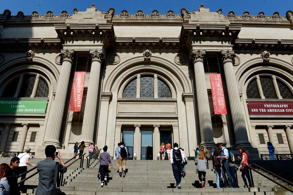 New York: Das Metropolitan Museum of Art. So gut besucht war es schon länger nicht mehr aufgrund der Pandemie.
