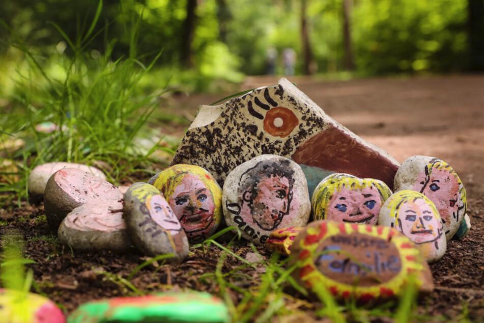 Jeder Stein ist ein kleines Kunstwerk.