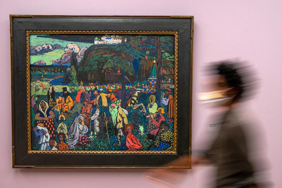 Amsterdamer Raubkunst-Prozess: Erben fordern Kandinsky zurück