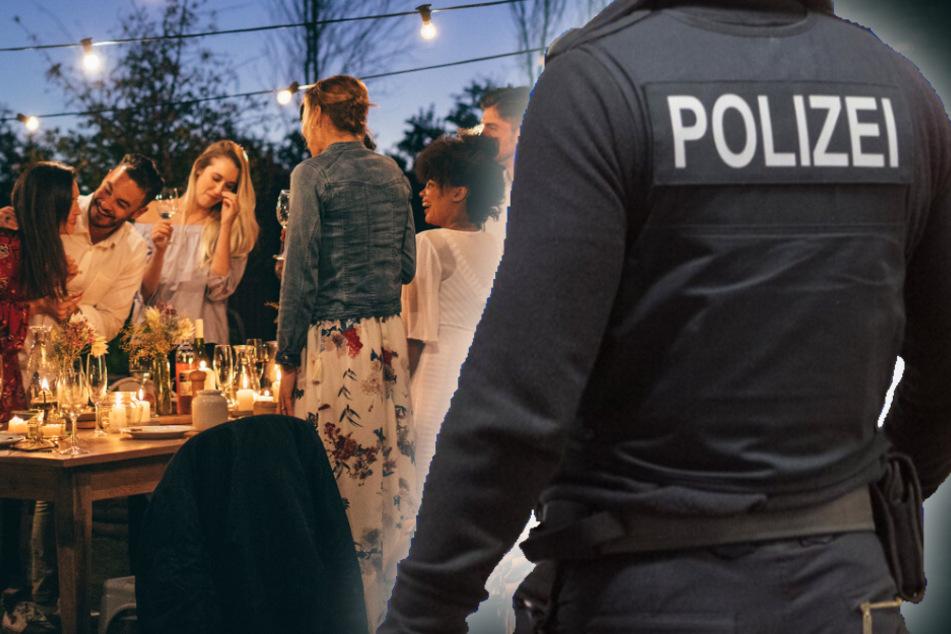 Polizei sprengt Gartenparty mit 60 Feiernden, einige leisten Widerstand