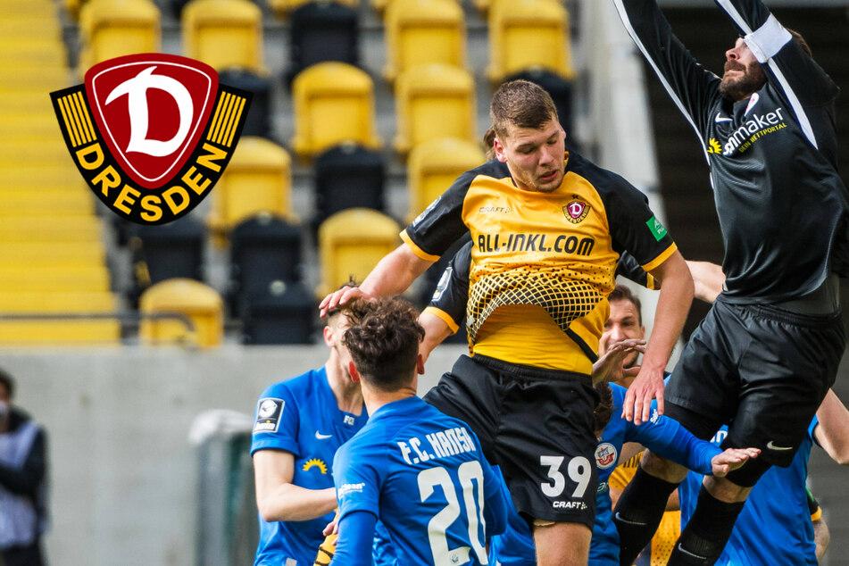 Dynamo Dresden: Ehlers mit starkem Spiel gegen seine große Jugendliebe