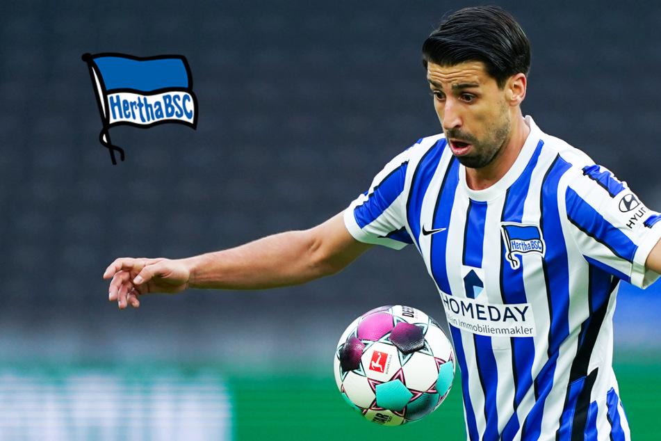 Hertha zittert vor Endspiel gegen Bielefeld um Khedira