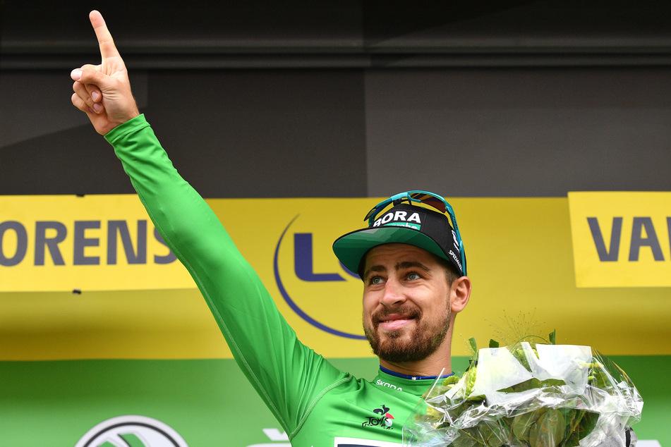 Auch Weltklasse-Fahrer Peter Sagan nahm Anteil am Schicksal der Riedmann-Familie.
