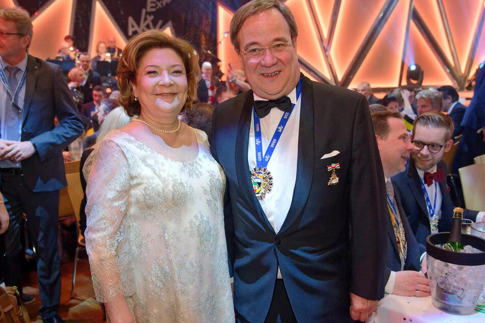 NRW-Ministerpräsident Armin Laschet (60, CDU) an der Seite seiner Ehefrau Susanne Laschet (59).