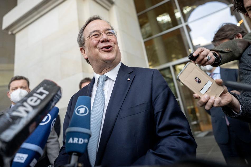 CDU-Chef Armin Laschet (60) drängt auf eine baldige Entscheidung über die Kanzlerkandidatur der Union.
