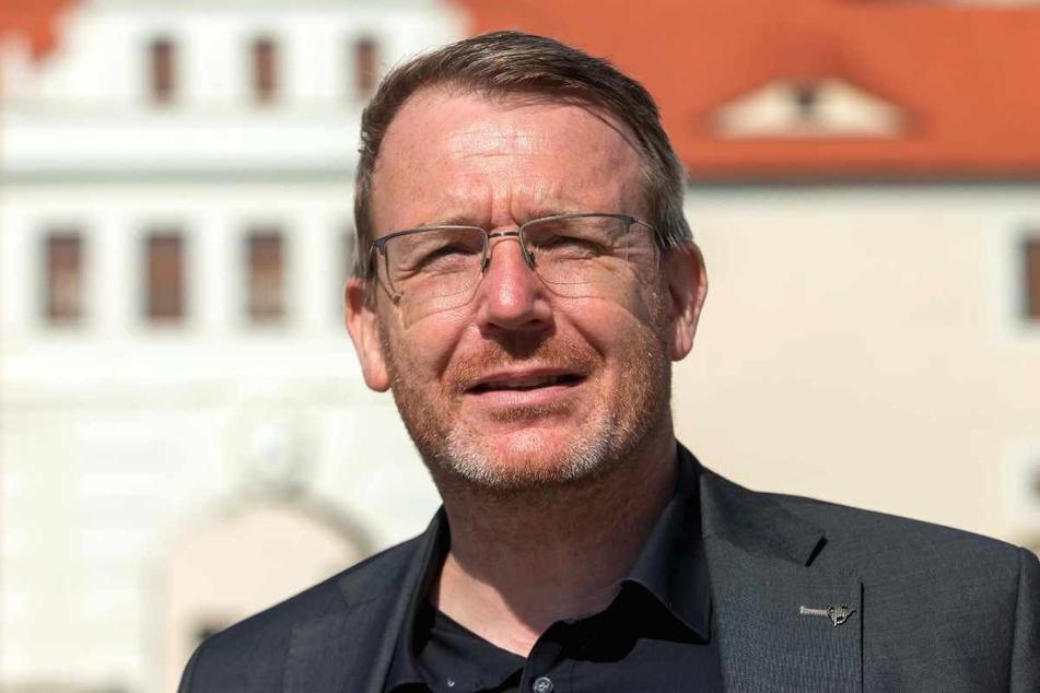 Oberbürgermeister Sven Krüger (47, parteilos) lässt Freiberger bis Jahresende weiter kostenlos testen.