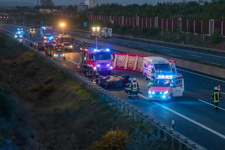 Die Autobahn 4 war am Freitagabend in Richtung Aachen für mehrere Stunden gesperrt.