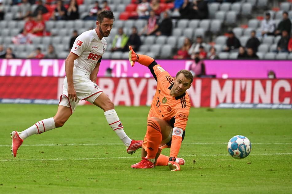 Mark Uth (30) schoss erst letzte Woche beim Spiel gegen den FC Bayern München ein Tor. Jetzt fällt er vorerst aus.