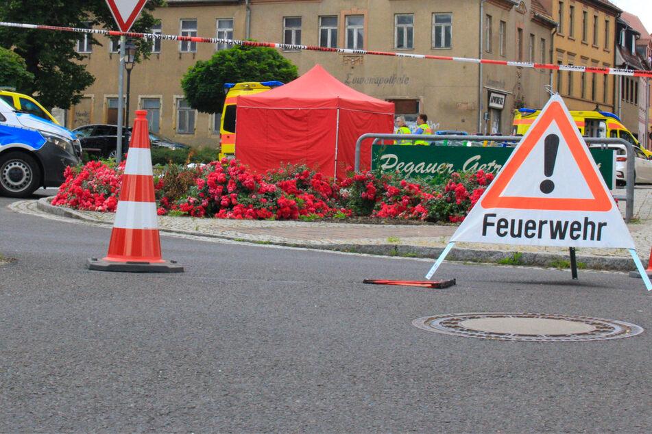 Schwerer Unfall bei Leipzig: Radlerin (†70) von Auto erfasst und getötet