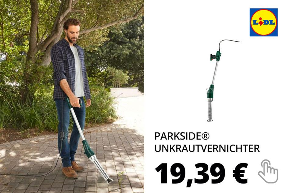 PARKSIDE® Unkrautvernichter/ Grillanzünder »PUV 2000 A1«, 2000 Watt, mit 5 Aufsätzen
