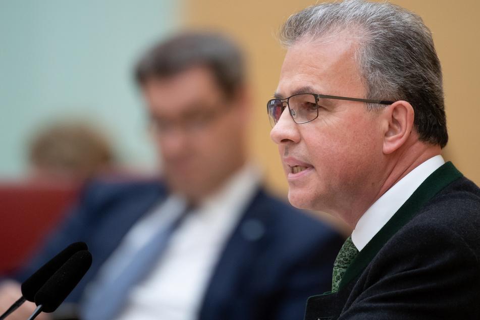 Florian Streibl, Fraktionsvorsitzender der Freien Wähler im bayerischen Landtag.