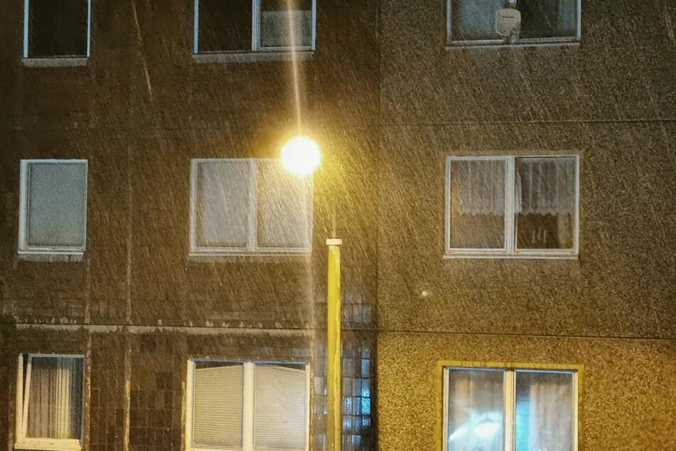 Die schweren Gewitter kamen mit Starkregen einher.