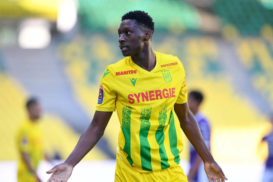 Randal Kolo Muani (22) hat beim FC Nantes noch ein bis Sommer 2022 gültiges Arbeitspapier. Nach einer Vertragsverlängerung sieht es derzeit nicht aus.