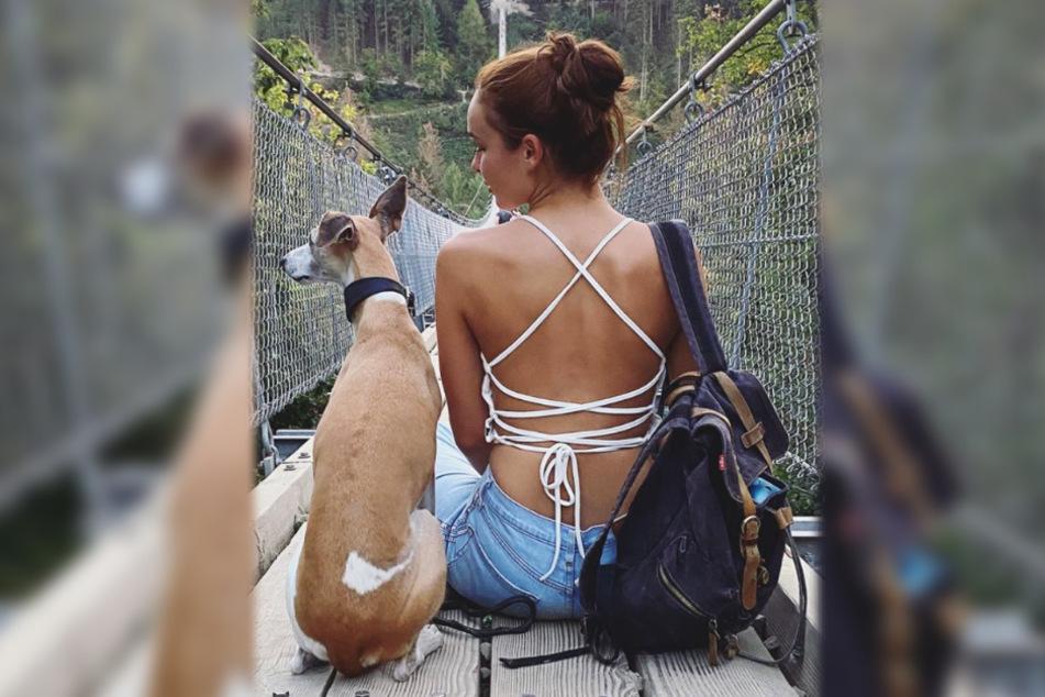 """Das Bild zeigt einen Screenshot aus dem Instagram-Profil von GNTM-Siegerin Jacqueline """"Jacky"""" Wruck (21)."""
