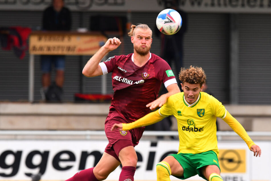 Mit vorbildlichem Einsatz ging Sebastian Mai (26) auch schon gegen Norwich City voran.