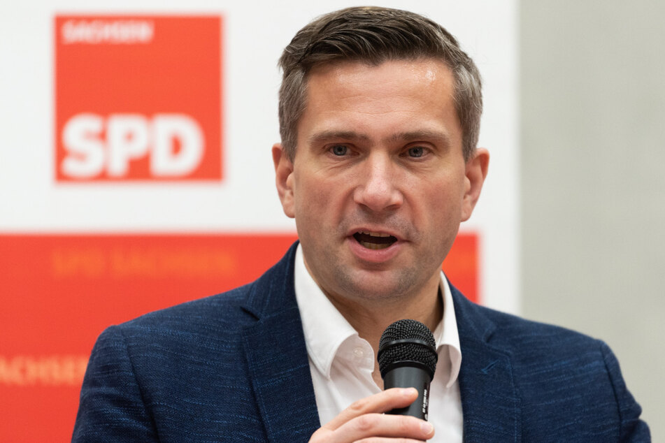 Martin Dulig, Landesvorsitzender der SPD-Sachsen.