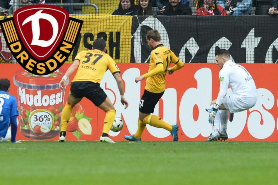 Dynamo kann verrücktes Ostderby nicht gewinnen
