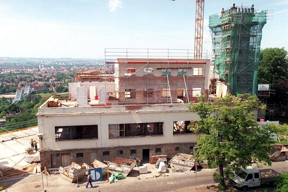 1998 ist der Luisenhof eine Komplettbaustelle. Die Sanierung kostete 15 Millionen D-Mark.