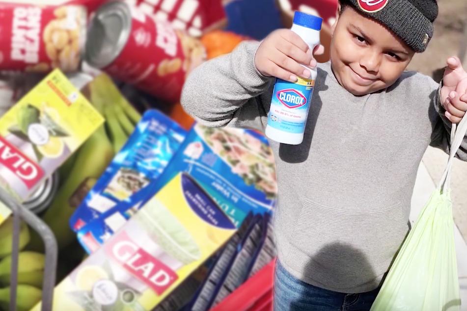 Junge (7) gibt sein Erspartes für Corona-Rentner aus und startet Spenden-Kampagne