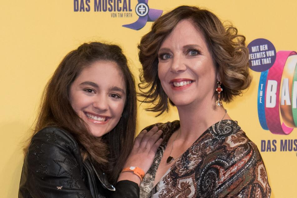 Daniela Büchner (42) mit Tochter Jada.