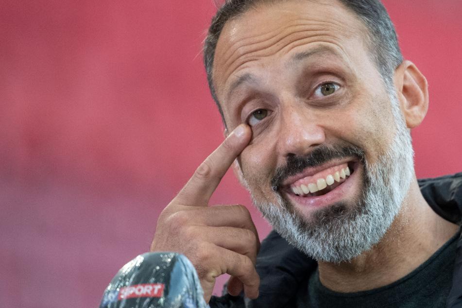 Kann wieder lächeln: VfB-Coach Pellegrino Matarazzo (42).
