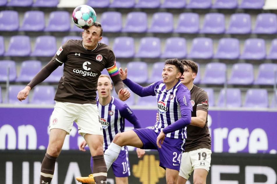 St. Pauli war gegen den FC Erzgebirge Aue die überlegene Mannschaft und gewann verdient.