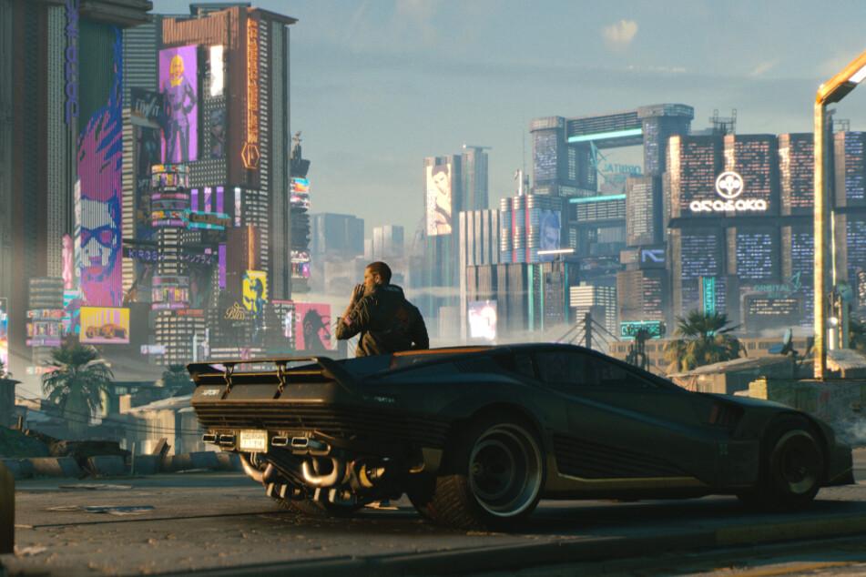 """Ach, """"Cyberpunk""""... Als cooler Gangster durch die wunderschöne Kulisse von Night City zu ziehen, so haben wir das alle wohl erwartet."""