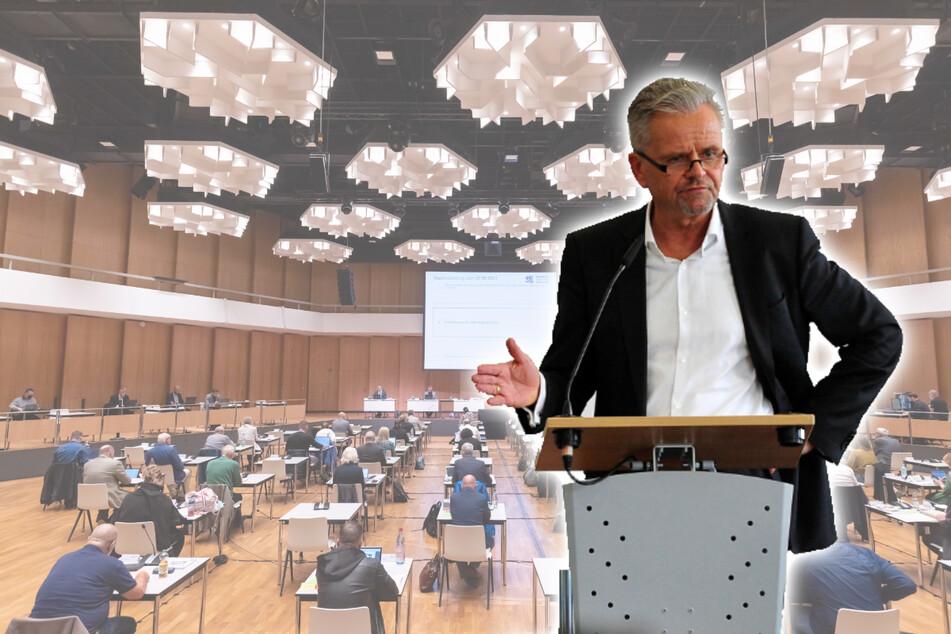 CDU-Chef hält Brandrede gegen Chemnitzer Stadtverwaltung