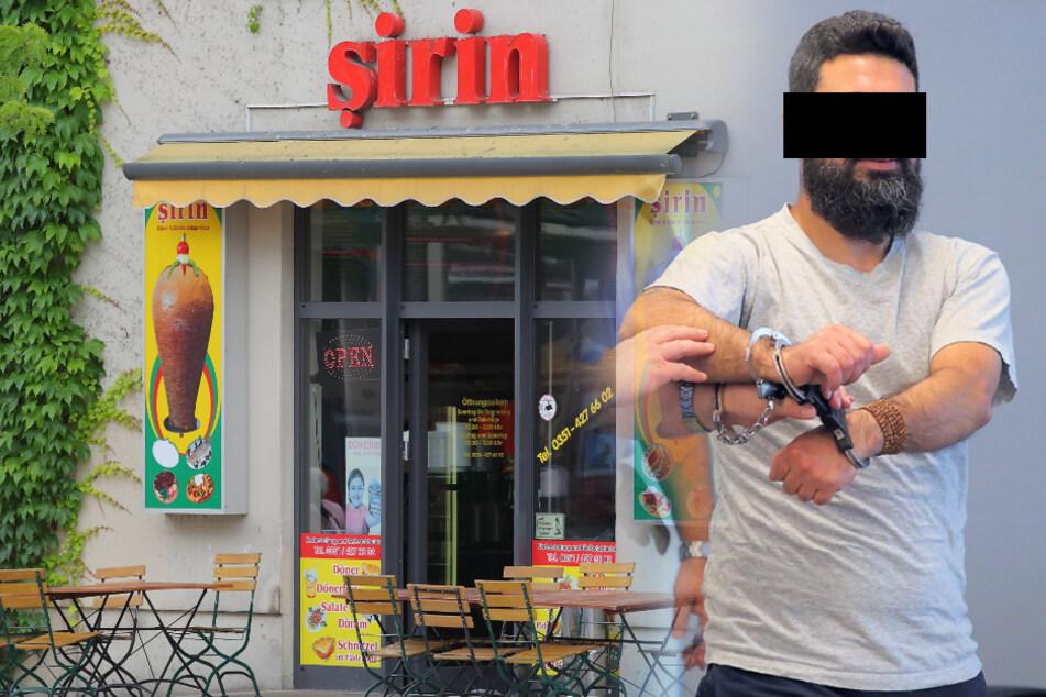 Blutiger Messer-Streit vorm Dönerladen in Dresden