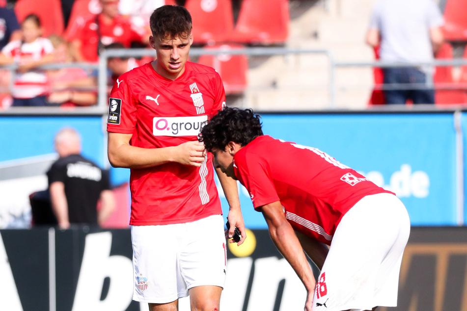 Enttäuschung beim FSV Zwickau: Die Schwäne kamen gegen den SC Freiburg II nicht über ein torloses Remis hinaus.