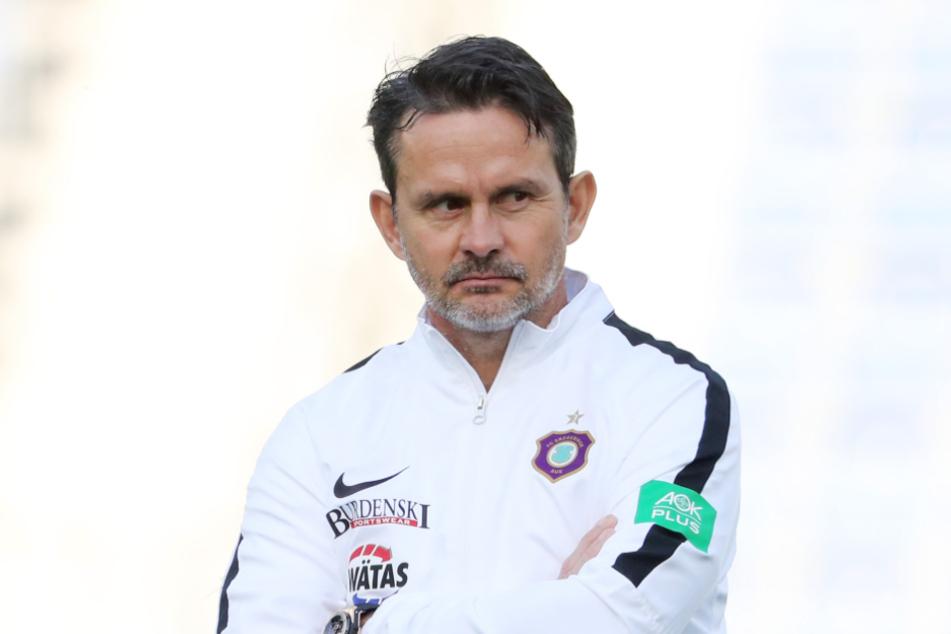 Aue-Coach Dirk Schuster.