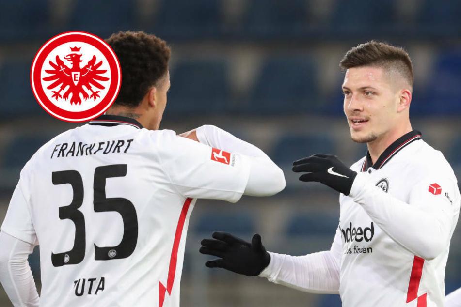 """""""Großes erreichen"""": Jovic sieht Eintracht Frankfurt noch stärker als 2019"""